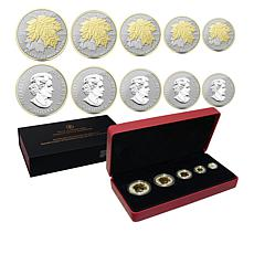 2014 Canada Silver Maple Leaf Fractional Coin Set