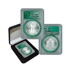 2014 MS70 PCGS Silver Eagle - Monster Box Green Label