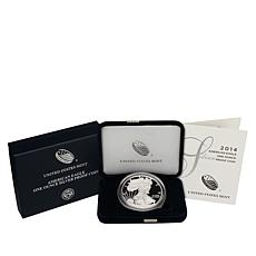2014 W-Mint Proof Silver Eagle Dollar Coin