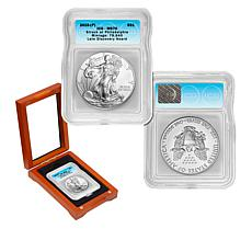 2015-P MS70 ICG Late Discovery Hoard Silver Eagle Dollar Coin