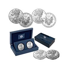 2016 Silver Eagle Dollar 30th Anniversary 2-Coin Set