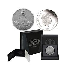 2016 Star Wars 1 oz. Silver $2 Proof Coin - Han Solo