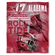 2017 National Champions Silk Touch Throw - Alabama Crimson Tide