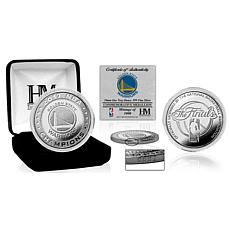 2017 NBA Champions Pure Silver Mint Coin