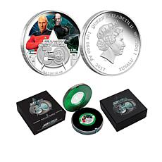 2017 Star Trek Captain Picard/Locutus 1 oz. Silver Coin