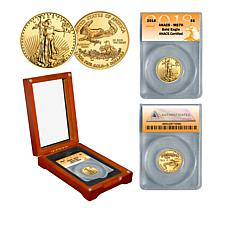 2018 MS70 ANACS $5 Gold Eagle 1/10 oz. Gold Coin
