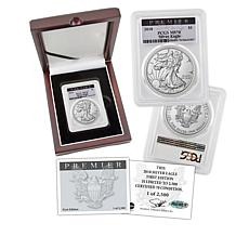 2018 MS70 PCGS Premier Label Limited Edition Silver Eagle Dollar Coin
