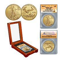 2018 SP70 ANACS First Day of Issue Limited Edition $50 Gold Eagle Coin