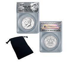 2019-D MS69 PL FDOI LE 876 John F. Kennedy (JFK) Half Dollar Coin