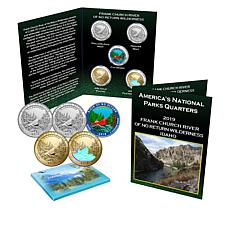 2019 Frank Church River of No Return Wilderness Park  5-Quarter Set