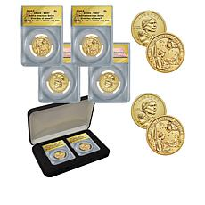 2019 MS67 ANACS FDOI LE 2009 P&D Native American Dollar Coins