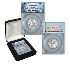 2019 MS67 Great American Coin Hunt Early Discovery Lowell Park Quarter