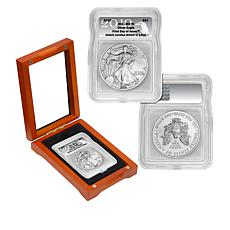2019 MS70 ICG FDOI LE 3,616 Silver Eagle Dollar Coin