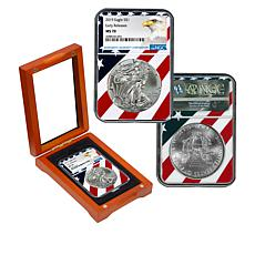 "2019 MS70 NGC ""Early Release"" Silver Eagle Dollar Coin"