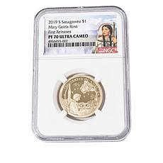 2019 PF70 NCG Mary Golda Ross Native American Dollar