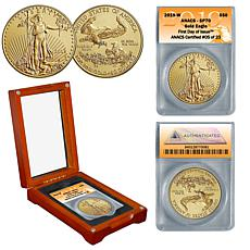 2019-W SP70 ANACS First Day of Issue Limited Edition 23 $50 Gold Eagle