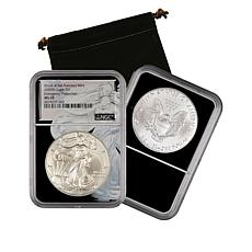 2020 MS69 NGC San Francisco Mint Emergency Silver Eagle Dollar Coin