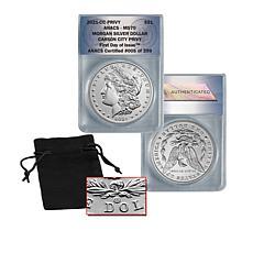 2021 MS70 ANACS Carson City Privvy Mark FDOI LE Morgan Silver Dollar