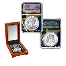 2021 PF70 FDOI West Point Mint Congratulations Set Silver Eagle Coin
