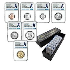2021 PF70 NGC Advance Releases 7-Coin Clad Proof Set