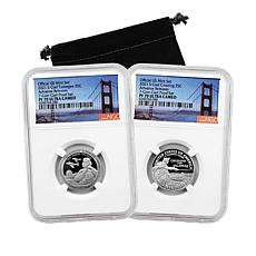 2021 PF70 NGC Advance Releases Quarters from 2021 Clad Proof Set