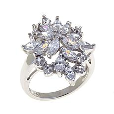 2.10ctw Absolute™ Marquise Spray Cocktail Ring