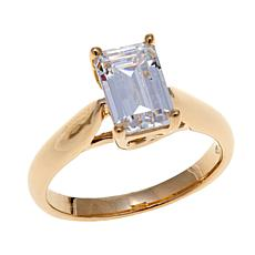 2.25ctw Absolute™ 14K Emerald-Cut Solitaire Ring