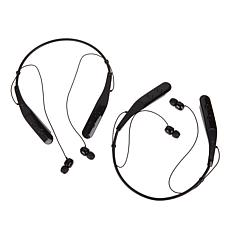 2pk LG TONE TRIUMPH Wireless Stereo Headsets w/Services