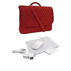 "3-in-1 Messenger Bag Laptop Starter Pack for up to 13"" Laptop"