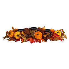"""36"""" Maple Leaves, Pumpkin and Berries Candelabrum"""