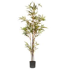 4' Artificial Potted Japanese Bamboo Tree
