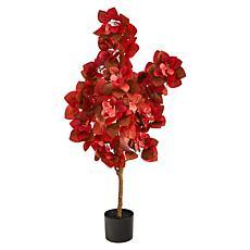 4' Autumn Pomegranate Artificial Tree