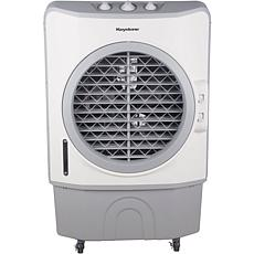 40-Liter Dark Gray Indoor-Outdoor Evaporative Air Cooler