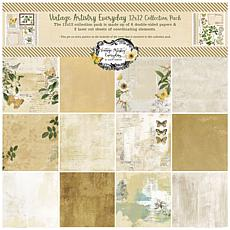 """49 And Market Collection Pack 12"""" x 12"""" - Vintage Artistry Everyday"""