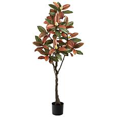 5' Fall Magnolia Artificial Tree