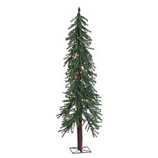5' Pre-Lit Alpine Tree - 150 Clear Lights