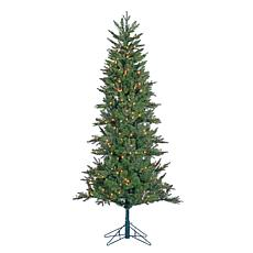 6-1/2' Pre-Lit Natural-Cut Salem Spruce Tree - 300 Clear Lights