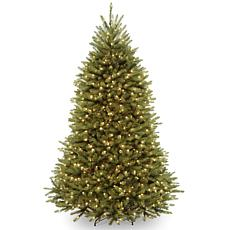 6.5 ft. Dunhill Fir Tree with Clear Lights
