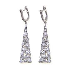 6.82ctw Absolute™ Multi-Shaped Stone Earrings