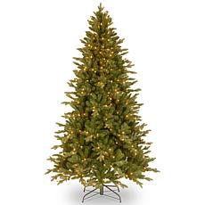 "7-1/2' Avalon ""Feel-Real"" Spruce Tree w/Lights"