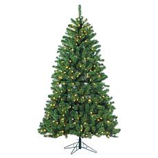 7' Montana Pine Tree - 400 Warm White LED Lights