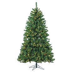 7' Pre-Lit Montana Pine Tree - 400 Warm White LED Lights