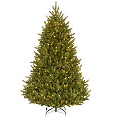 7.5 ft. Natural Fraser Medium Fir Tree with Clear Lights