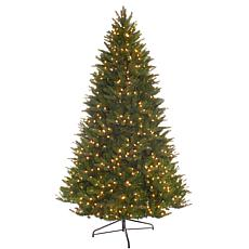 7.5' Miracle Shape Calgary Spruce Christmas Tree - 800 Clear Lights