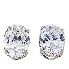 Absolute™ 2.50ctw CZ 14K Oval Stud Earrings