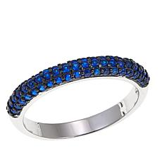 Absolute™ Simulated Blue Sapphire Sterling Silver Ring