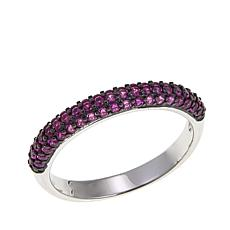 Absolute™ Simulated Ruby Sterling Silver Ring