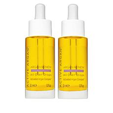 Active Argan 2-pack All Over Drops for Face, Body and Hair