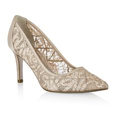 Adrianna Papell Hazyl Lace Pointed-Toe Pump