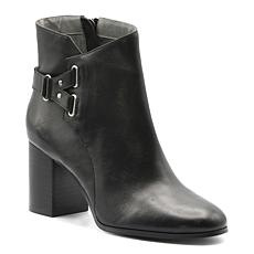 Adrienne Vittadini Bonsai Leather Booties